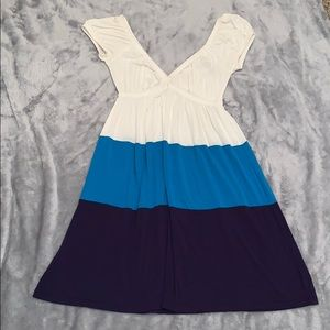 Lush Colorblock Dress